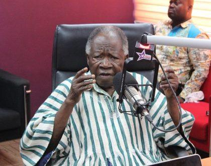RIP! Veteran writer and diplomat, K.B Asante dead at age 93