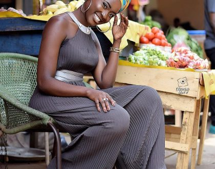 Photos: Stunning Looks Of Fella Makafui Even At The 'Market'