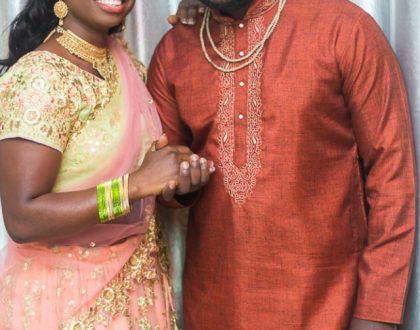 (Photos) How A Ghanaian Blogger, Osarfo Anthony, Married In The Hare Krishna Tadition