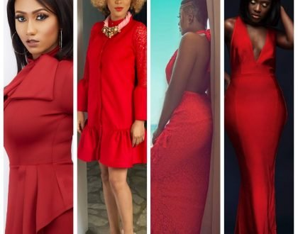 Photos: 8 Ghanaian Celebrities Who Nailed Val's Day In Red