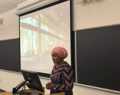 PHOTOS: Second Lady Samira Bawumia Lectures At The University Of Pennsylvania