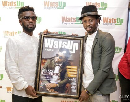 Bisa Kdei Covers Latest Edition Of Watsup Magazine