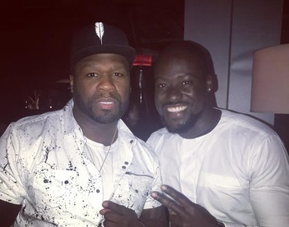 Photos: Chris Attoh Hangs Out With American Rapper 50Cent, Other Celebrities