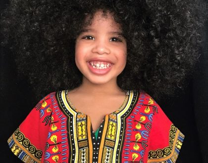 Photos: This Cute Little Boy's Hair Is Causing Confusion On Social Media