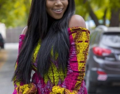 (Photos) Yvonne Nelson In African Print