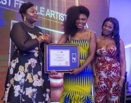 Becca Honored As African Female Artiste Of The Year At APAwards