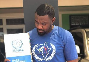 John Dumelo Appointed As Human Rights Ambassador