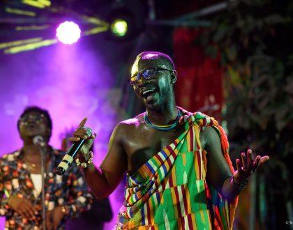 (Photos) Okyeame Kwame Amazes at 'OK Stripped'