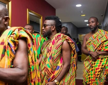 "Photos From Bisa Kdei's Third Album ""High-Life Konnect"" Launch"