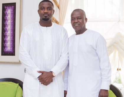 Like Father, Like Son: John Dumelo With Dad