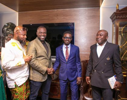 Exclusive Photos From The Opening Of MenzGold London Branch