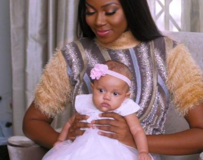 Majid Michel And Yvonne Nelson's Daughter, Ryn Look Good In Video