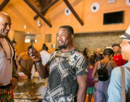 Hollywood Stars Get A Taste Of Ghana At Royal Senchi