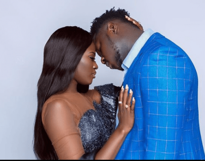 Medikal Surprises Fella Makafui on Valentine's Day