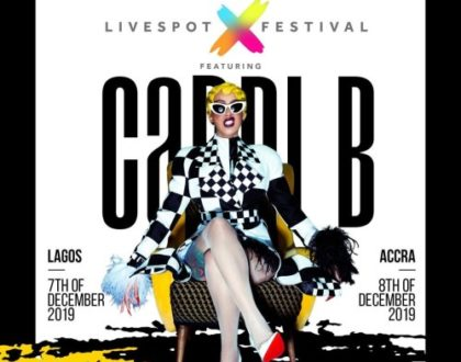 Cardi B confirm she's coming to Ghana in December