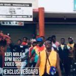 Kofi Mole Shoots Music Video For Next Release Featuring BPM BOSS.