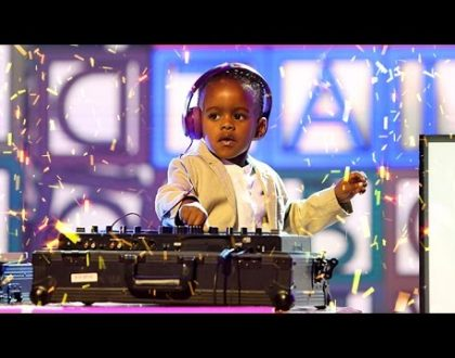 DJ Arch 5 yrs Old South African DJ secures a Guinness Record