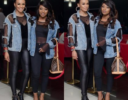Pearl Thusi and Dj Zinhle Serving us Major BFF goals.(PICS)