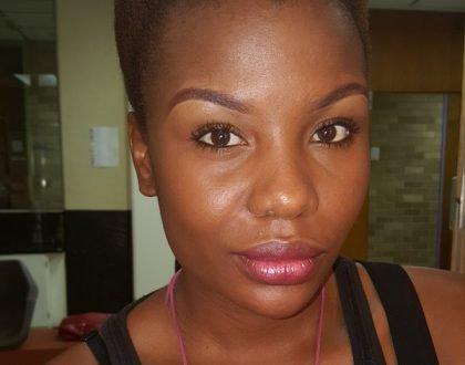 Mona Monyane rocks a new hairstyle (Photos)
