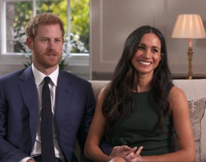 Prince Harry and Meghan Markle share detail about their wedding cake