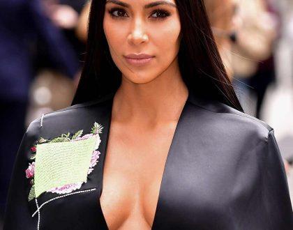 Kim Kardashian in birthday suit again