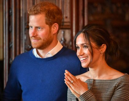 Prince Harry and Meghan Markle's visit to Cardiff Castle (Photos)