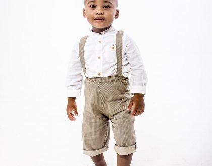 Baby Makhosini launches online kiddies apparel (Photos)