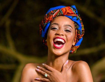 Ntando Duma shares baby daddy drama in public