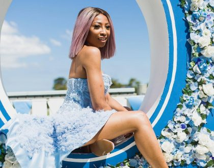 Enhle Mbali is doing fine following hijacking ordeal.
