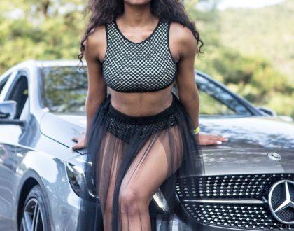 Ayanda MVP gets herself a new ride (Photos)