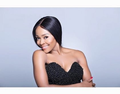 40 year old Thembi Seete is a mom to be