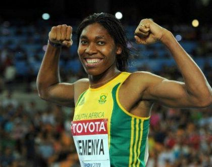 Caster Semenya earns IAAF nomination