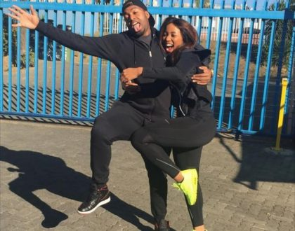 Itumeleng Khune sends Sbahle Mpisane sweet message