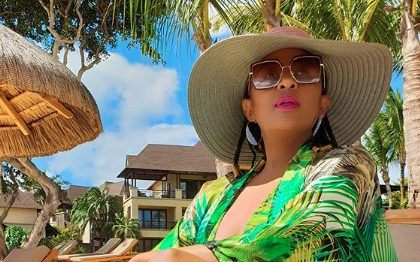 Photo: Basetsana Kumalo enjoys vacay