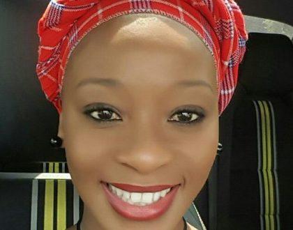 Salamina Mosese writes hubby sweet message