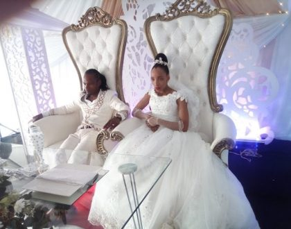 Socialite-turned pastor Bhaka Nzama marries in a strange way