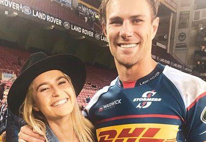 Photos: Rugby player JJ Engelbrecht enjoys honeymoon in the Alpines