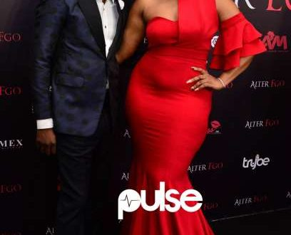 Omotola Receives an Award for her Role in the Movie Alter Ego