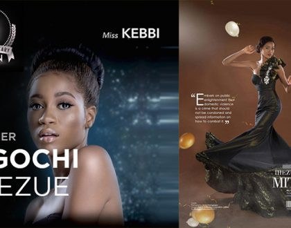 Meet the Head that Wears the Crown; Miss Ugochi Ihuezee-MBGN 2017