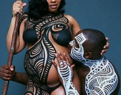 Check out this Couple artistic maternity nude photo