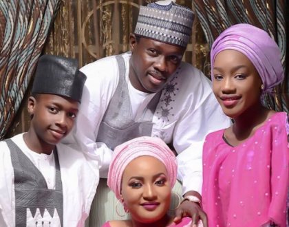 Ali Nuhu and family