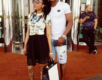 Nigerian Footballer Jude Ighalo gifts wife a new Range Rover on her birthday