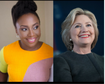 """Chimamanda Adichie questions  Hillary Clinton for starting her Twitter Bio with """"Wife"""""""