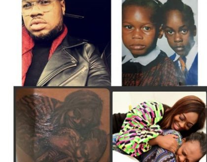 Uriel's brother gets a tattoo of her and their mom